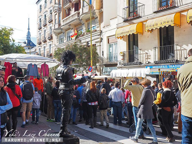 馬德里El Rastro跳蚤市場8