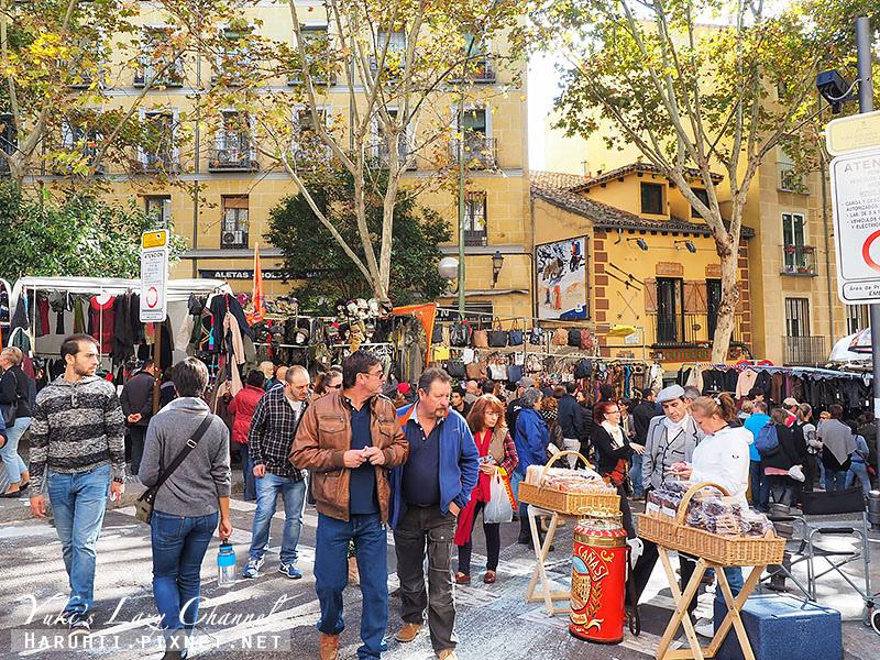 馬德里El Rastro跳蚤市場14
