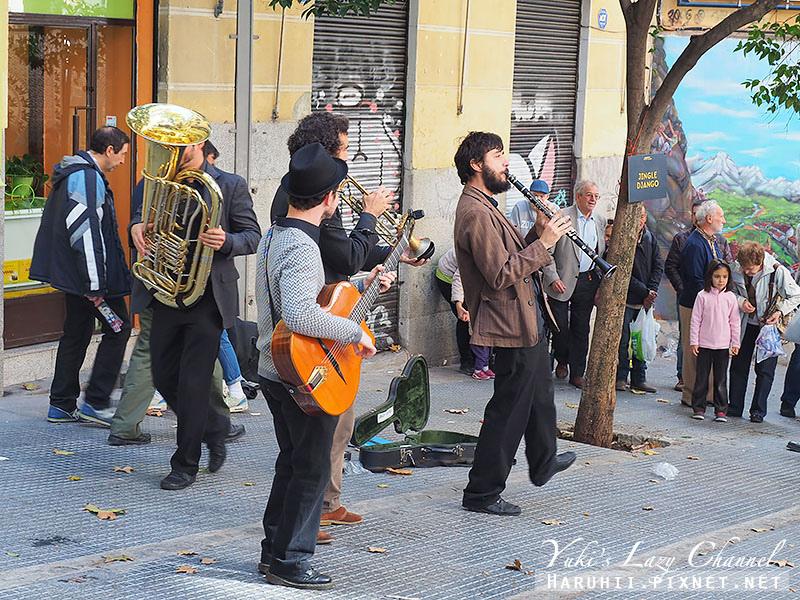 馬德里El Rastro跳蚤市場30