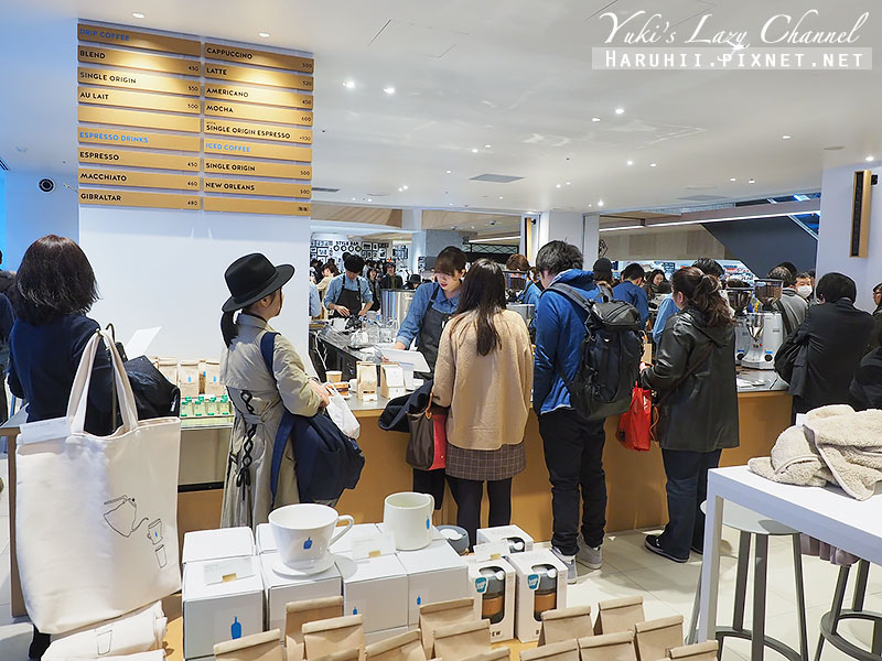 新宿NEWOMAN BLUE BOTTLE COFFEE11