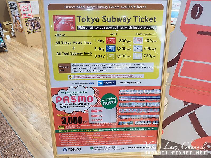 東京地鐵三日券Tokyo Subway Ticket5