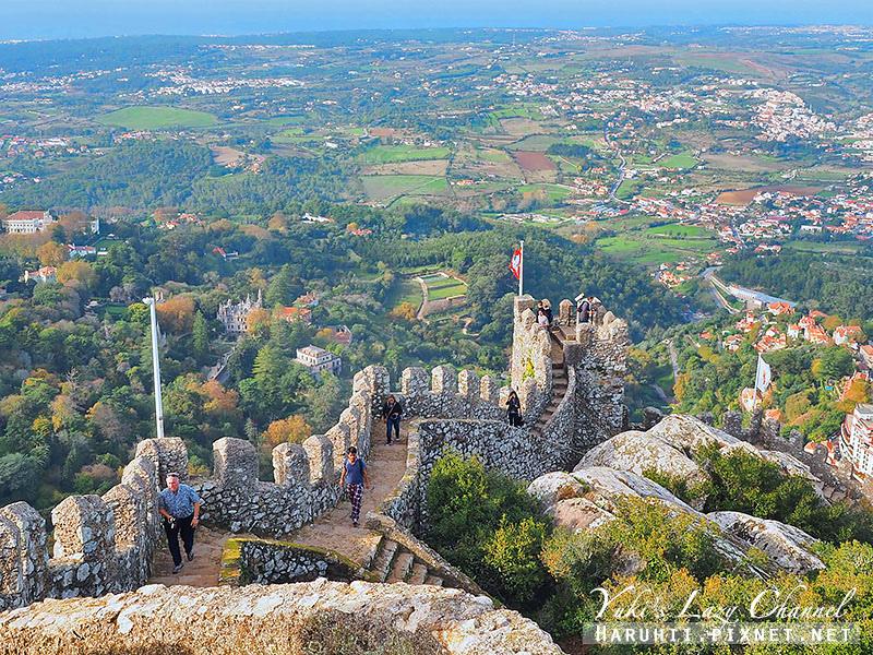 摩爾人城堡Sintra Castle of the Moors1.jpg