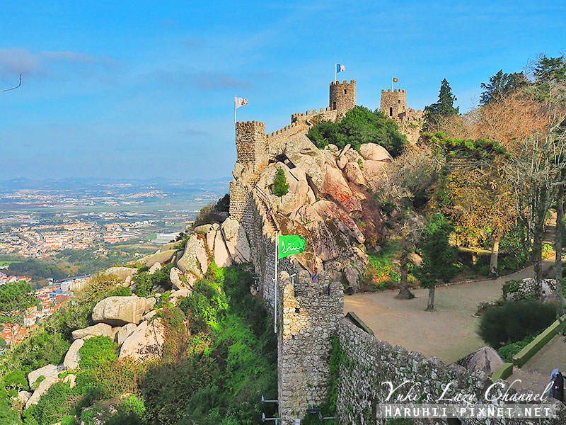 摩爾人城堡Sintra Castle of the Moors2.jpg