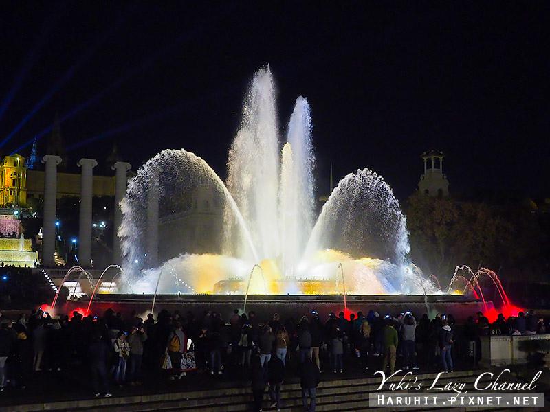 巴塞隆納魔幻噴泉Font Màgica12.jpg