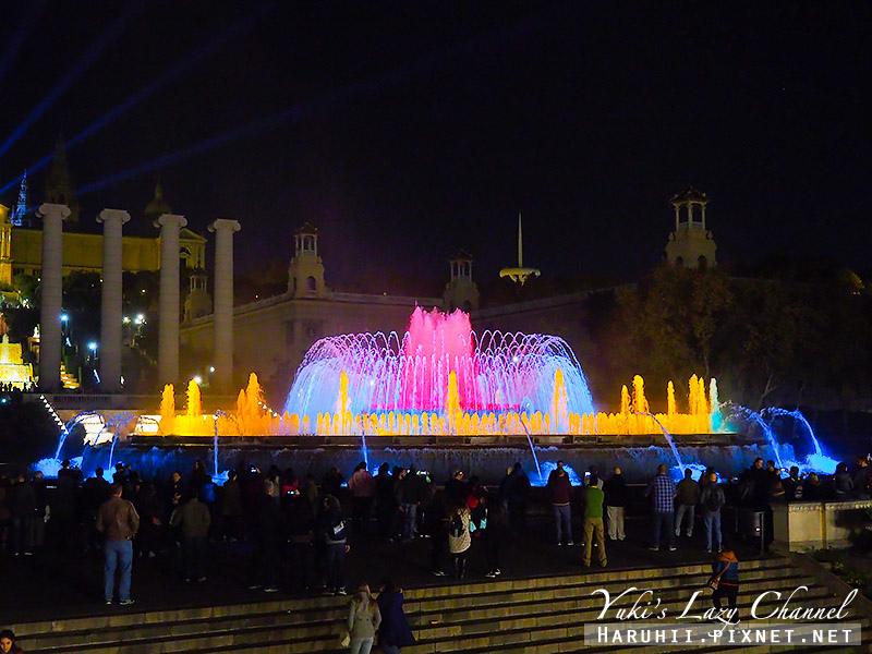 巴塞隆納魔幻噴泉Font Màgica18.jpg
