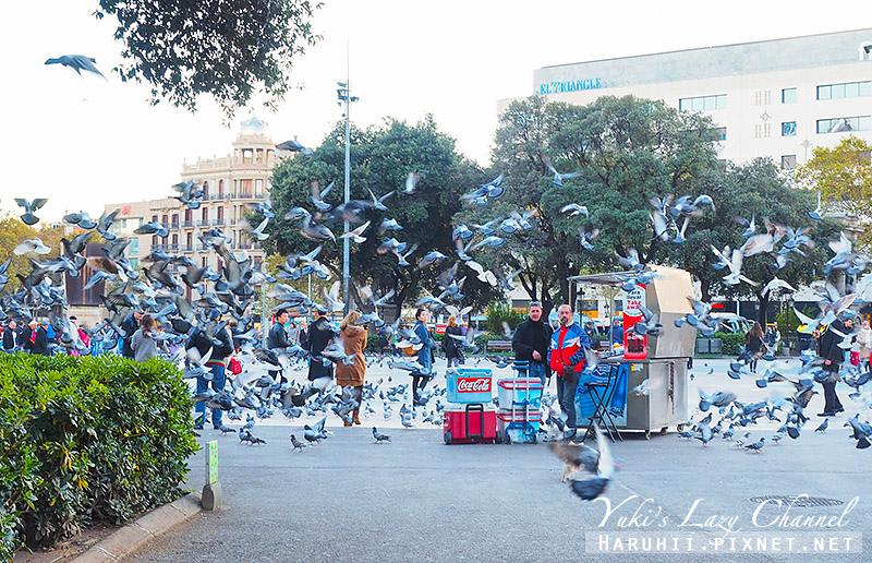 加泰隆尼亞廣場Plaça de Catalunya1.jpg