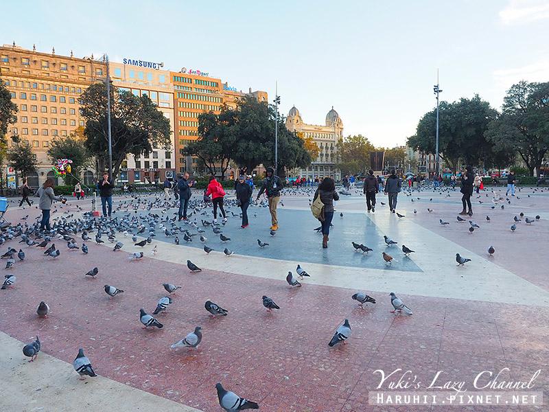 加泰隆尼亞廣場Plaça de Catalunya2.jpg