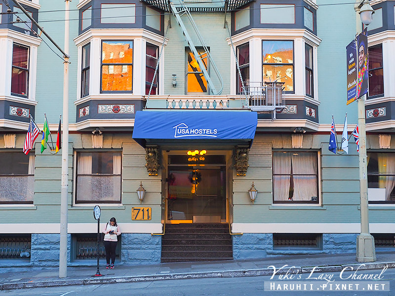 USA Hostels San Francisco舊金山USA青年旅館1.jpg