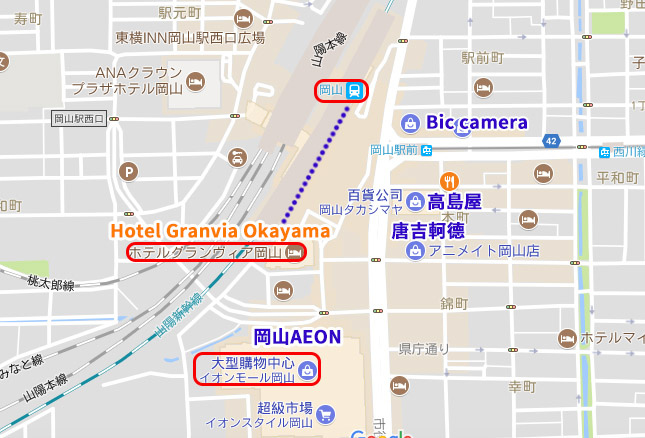 Hotel Granvia Okayama岡山格蘭比亞飯店.jpg