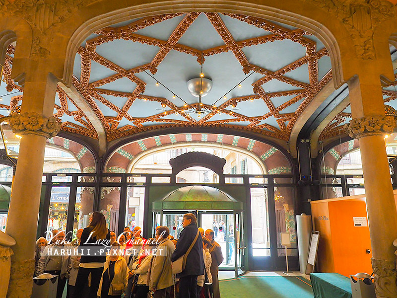 加泰隆尼亞音樂宮Palau de la Música Catalania13.jpg
