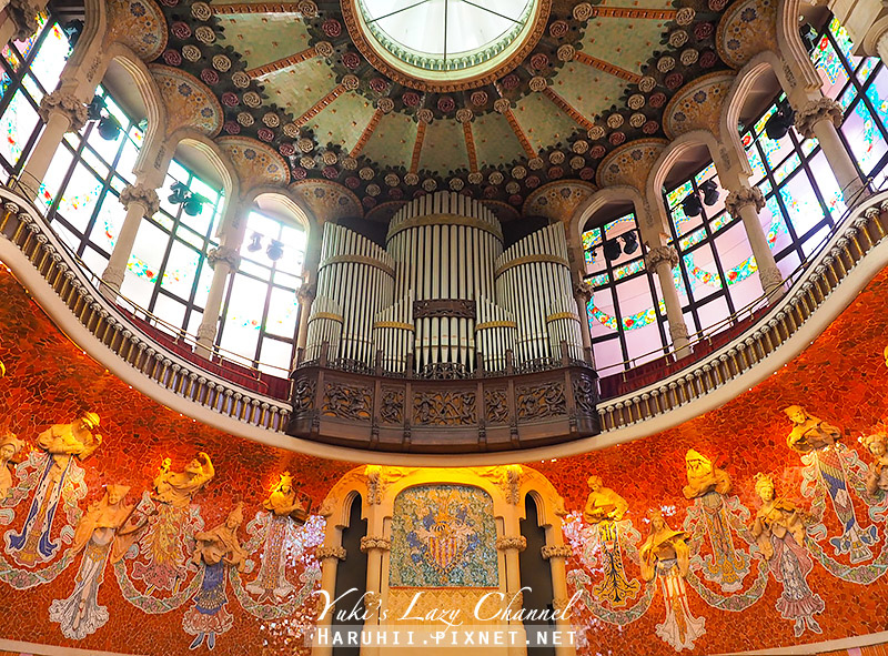 加泰隆尼亞音樂宮Palau de la Música Catalania41.jpg