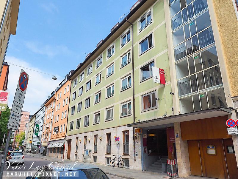 慕尼黑就是為您飯店及青年旅館The 4You Hostel & Hotel Munich.jpg
