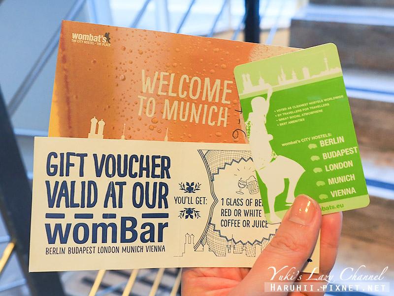 慕尼黑袋熊城市青年旅館Wombats City Hostel Munich2.jpg