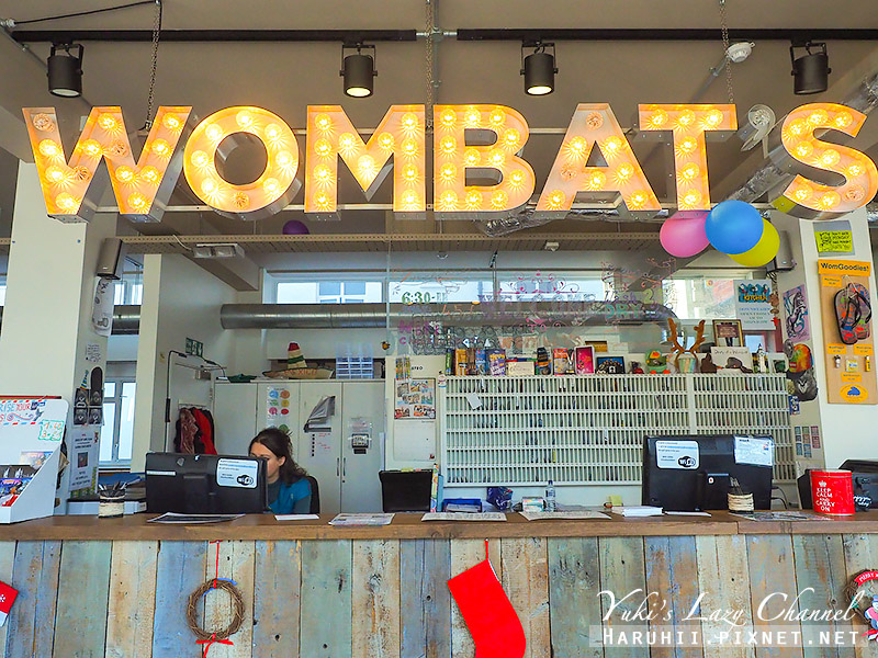 Wombat's CITY Hostel - London倫敦袋熊城市青年旅館1.jpg