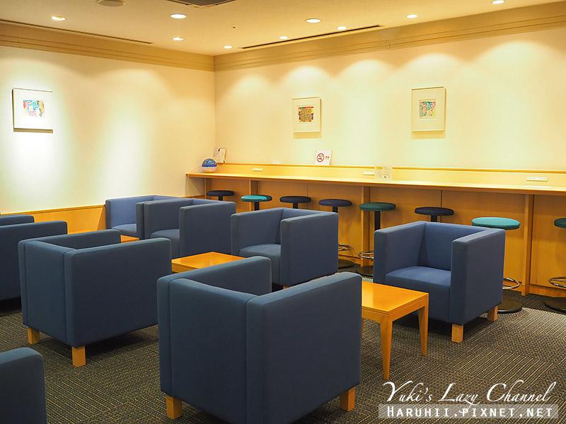 關西機場國泰航空貴賓室Lounge Pacific1.jpg