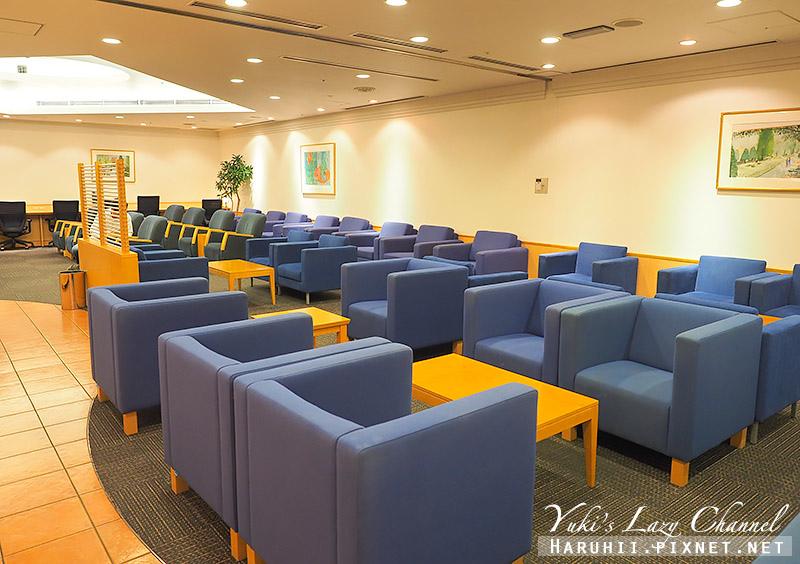 關西機場國泰航空貴賓室Lounge Pacific2.jpg