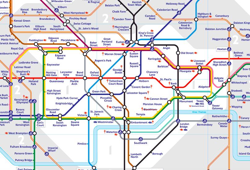 倫敦地鐵Zone