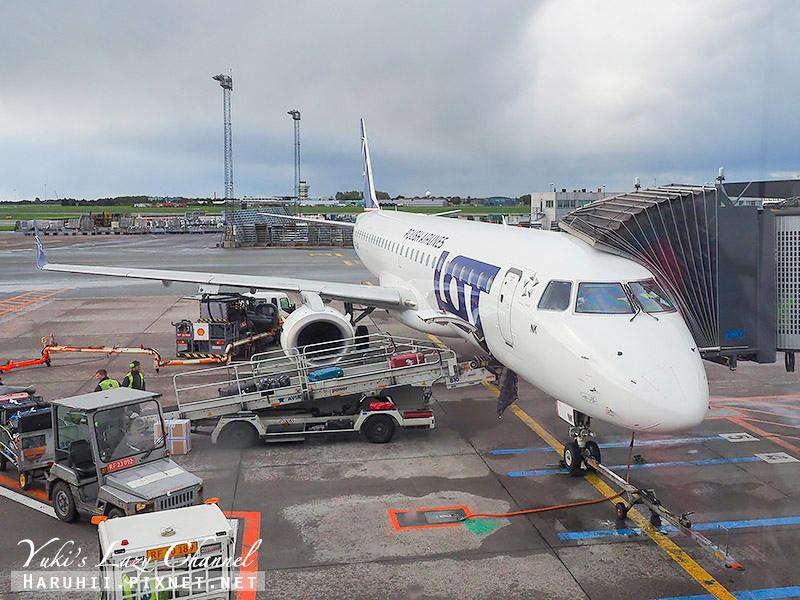 波蘭航空LOT LO463 華沙-哥本哈根.jpg