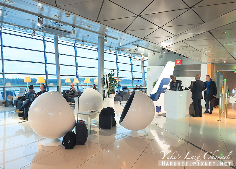 赫爾辛基機場芬蘭航空貴賓室Finnair Lounge1.jpg
