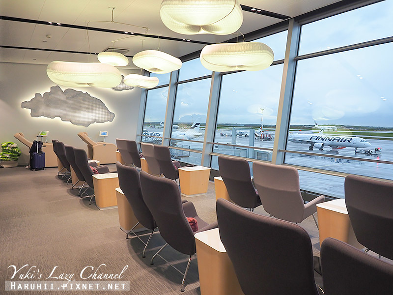 赫爾辛基機場芬蘭航空貴賓室Finnair Lounge5.jpg