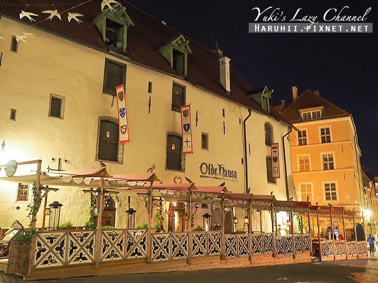 塔林中世紀風格餐廳Olde Hansa3.jpg