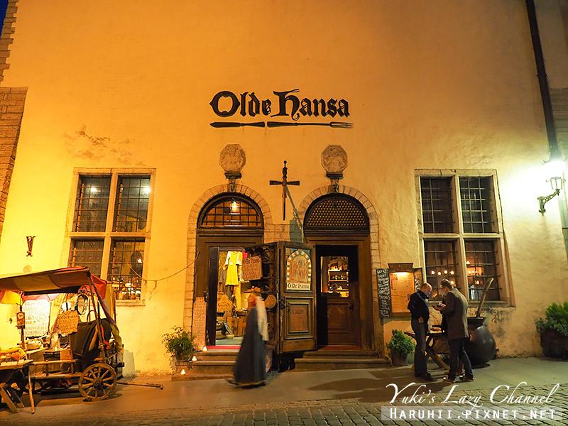 塔林中世紀風格餐廳Olde Hansa1.jpg