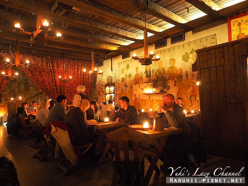 塔林中世紀風格餐廳Olde Hansa5.jpg