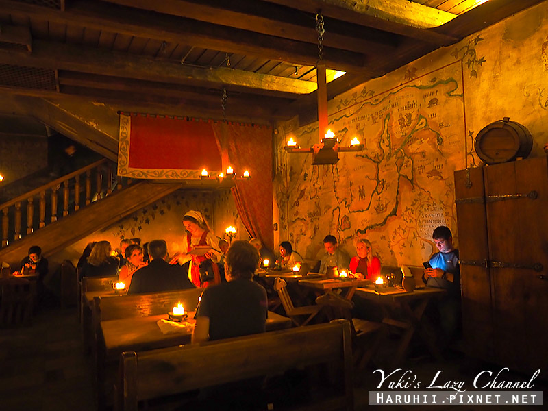 塔林中世紀風格餐廳Olde Hansa10.jpg