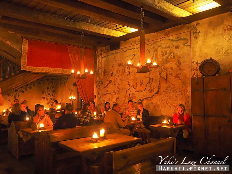 塔林中世紀風格餐廳Olde Hansa12.jpg