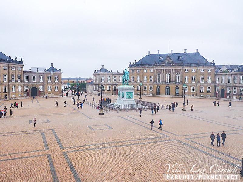 阿馬林堡宮廣場1 Amalienborg.jpg