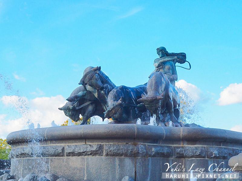 吉菲昂噴泉 Gefionspringvandet2.jpg