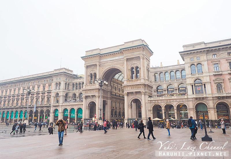 埃馬努埃萊二世拱廊 Galleria Vittorio Emanuele II