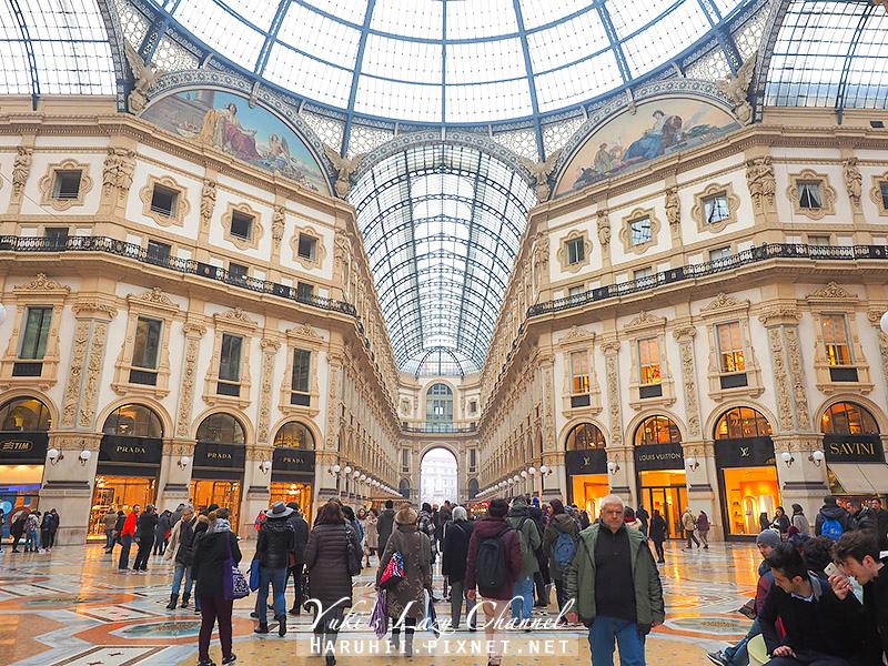 埃馬努埃萊二世拱廊 Galleria Vittorio Emanuele II5