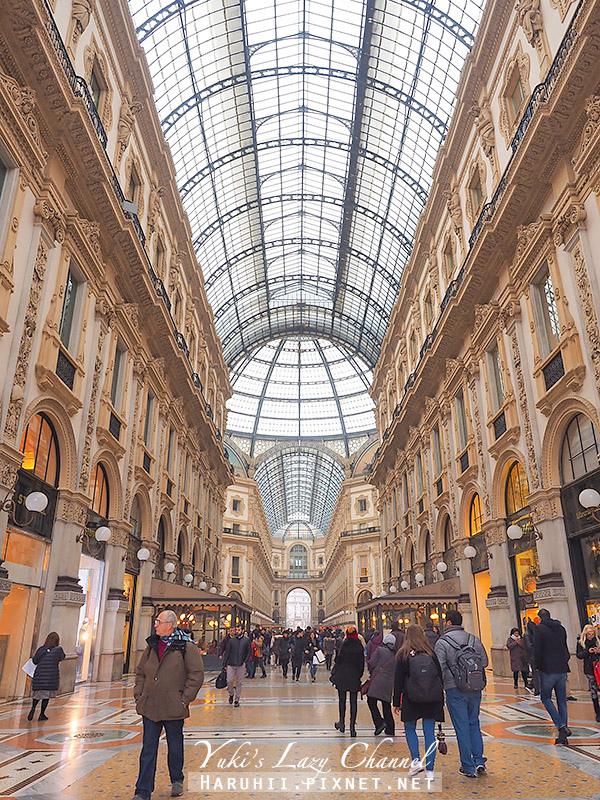 埃馬努埃萊二世拱廊 Galleria Vittorio Emanuele II6