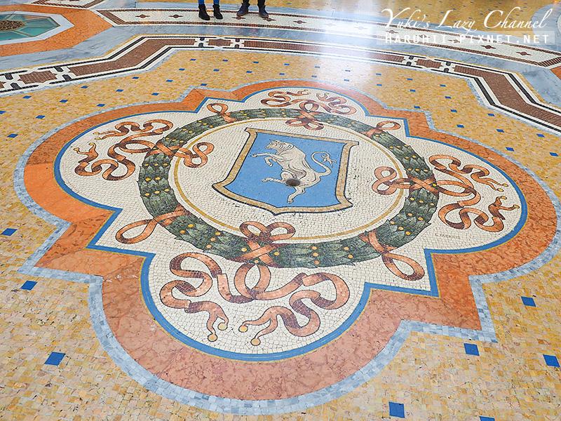 埃馬努埃萊二世拱廊 Galleria Vittorio Emanuele II7