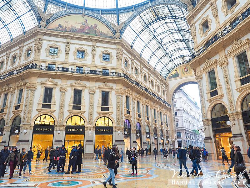 埃馬努埃萊二世拱廊 Galleria Vittorio Emanuele II9