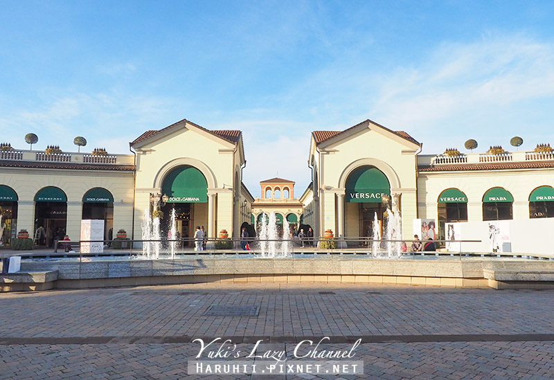 米蘭Outlet Serravalle Designer Outlet