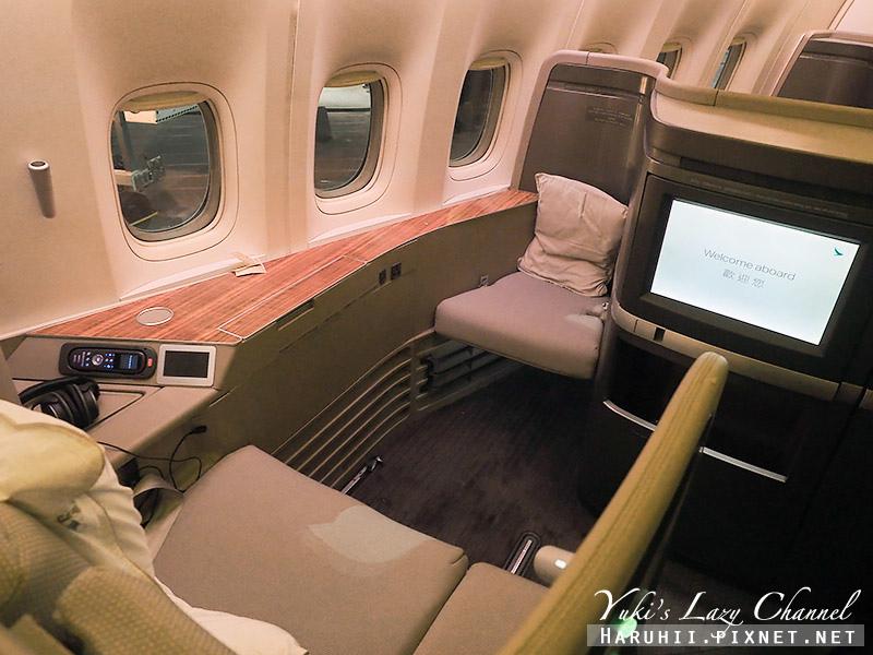 國泰航空頭等艙CX812香港波士頓2.jpg