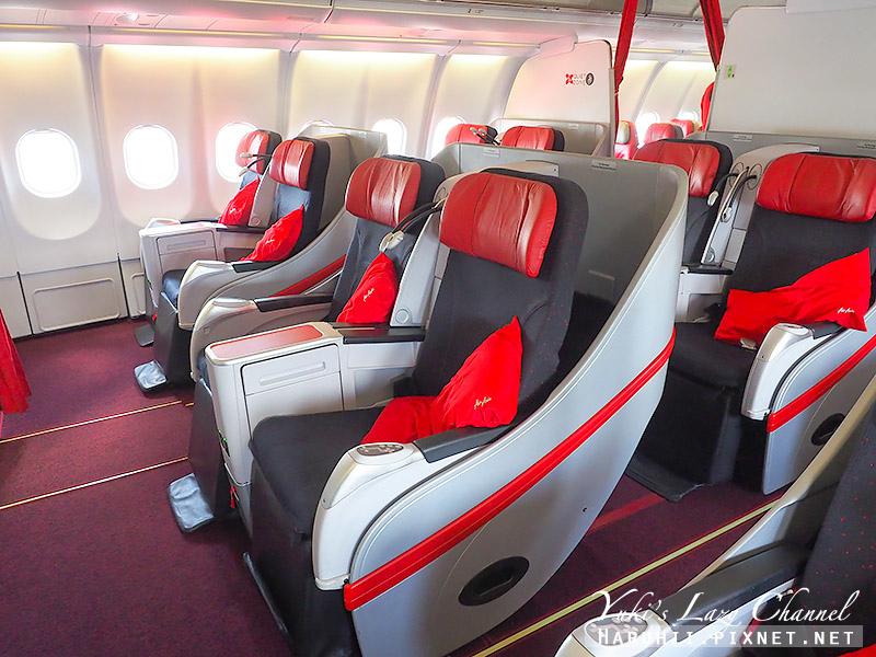 AirAsia亞航商務艙豪華平躺座椅3.jpg