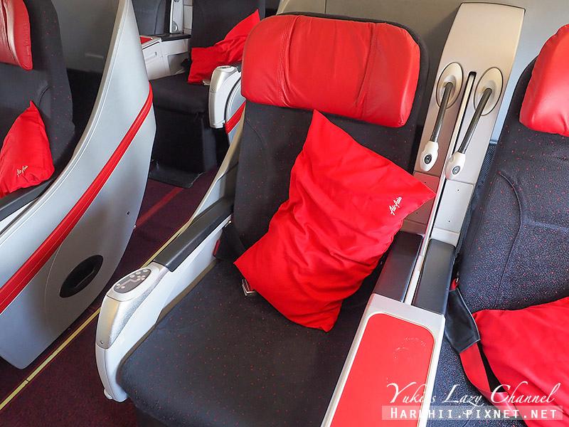 AirAsia亞航商務艙豪華平躺座椅4.jpg
