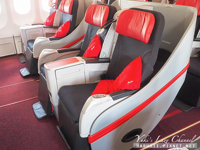 AirAsia亞航商務艙豪華平躺座椅6.jpg