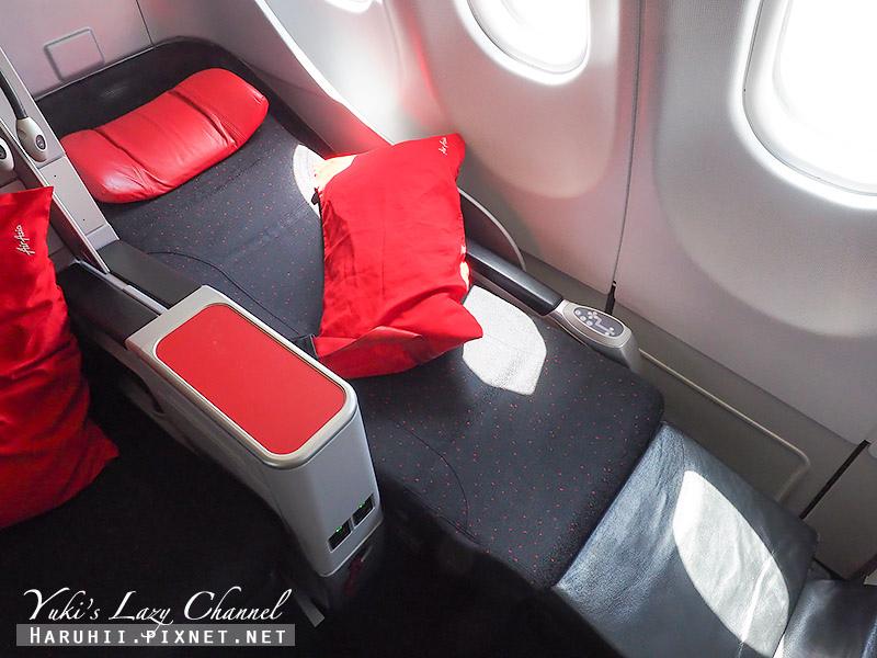 AirAsia亞航商務艙豪華平躺座椅7.jpg