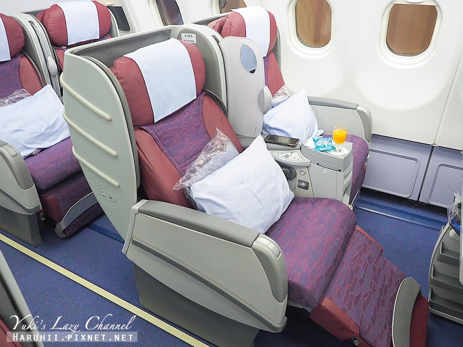 華航商務艙A330台北福岡17.jpg