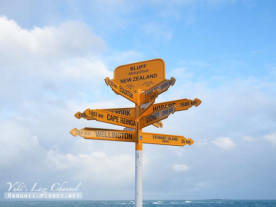 紐西蘭南島最南端布拉夫Bluff.jpg