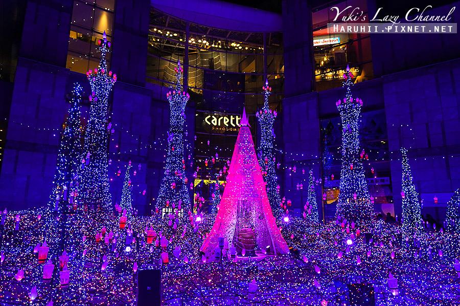 汐留Caretta冬季點燈東京聖誕點燈4.jpg