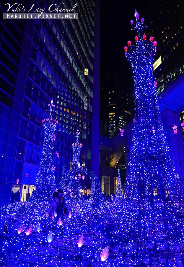 汐留Caretta冬季點燈東京聖誕點燈20.jpg