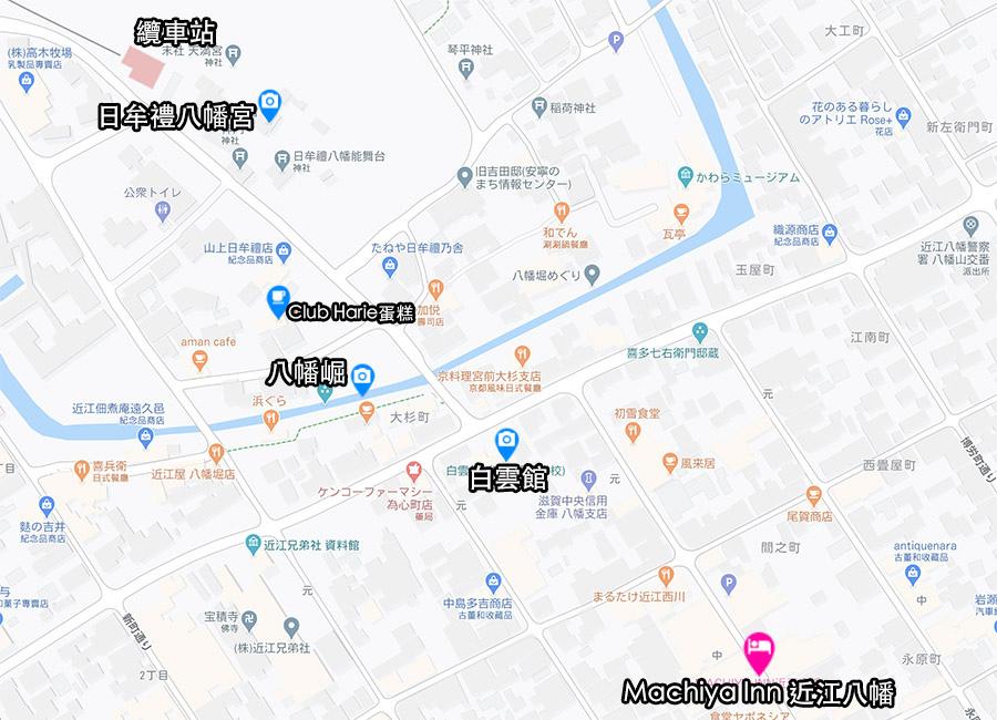近江八幡住宿推薦Machiya Inn Omihachiman map.jpg