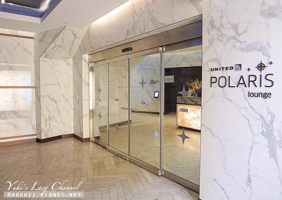 聯合航空北極星貴賓室United Airlines Polaris Lounge.jpg