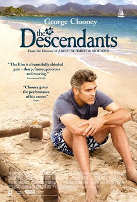 Geroge Clooney The Descendants Poster