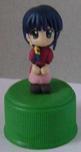Yujin 盒玩  Comic Party 人物瓶蓋系列  長谷部 彩(普版)